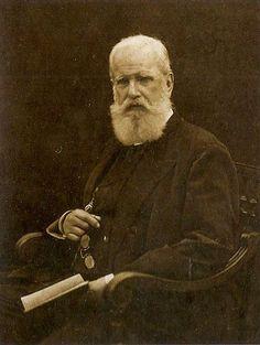 Imperador Pedro II (o segundo e último monarca) em 1887.