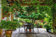 47 Most Amazing Pergola Design Ideas For Summer Living Diy Pergola, Wood Pergola, Pergola Shade, Pergola Ideas, Modern Backyard Design, Backyard Garden Design, Backyard Patio, Backyard Playhouse, Green Terrace