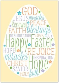 Bright Message - Easter cards from treat.com
