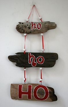 driftwood  xmas decoration