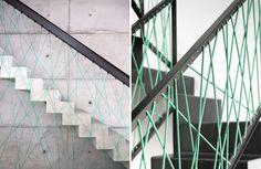Simon Frost - blog wnętrzarski: DIY: balustrada ze sznurka