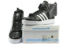 Womens Jeremy Scott JS Wings 2.0 Black Adidas Shoes 2012  wanted this so badly for a long time