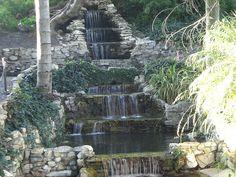 Waterfalls at Averill Park, San Pedro, California