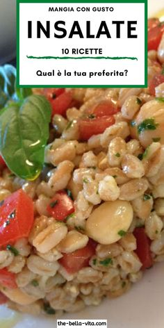 Pasta Salad Recipes, Veggie Recipes, Whole Food Recipes, Vegetarian Recipes, Cooking Recipes, Chocolate Slim, Wonderful Recipe, Healthy Dinner Recipes, Italian Recipes