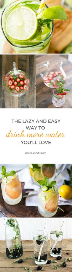 If you need to drink water, this post is for you. Learn how fruits and spices can help you reach your recommended daily water intake. water / infused / health / women / water intake / african american women / latino women / fruits / spices