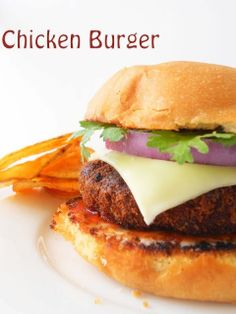 How to make homemade breaded chicken burger from scratch!!