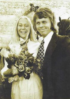 Agnetha and Bjorn got married on July 6th, 1971 on the island of Verum. <3