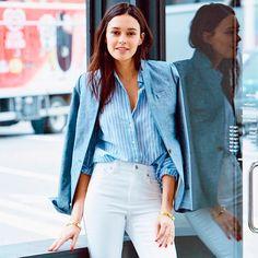 7 ideias para deixar sua calça jeans mais formal