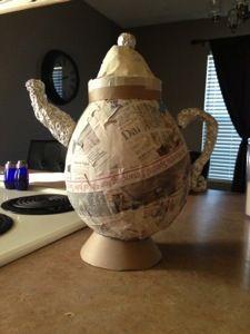 Paper Mâché Teapots | K. Lynn's Delicious Delights