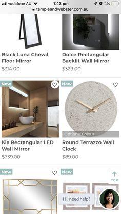 Floor Mirror, Terrazzo, Clocks, Flooring, Wall, Color, Floor Standing Mirror, Floor Mirrors