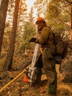 Sawyer #notquiteyellow via USFS Fire - California