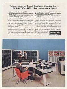 Control Data 3600 International Computer System (1963).