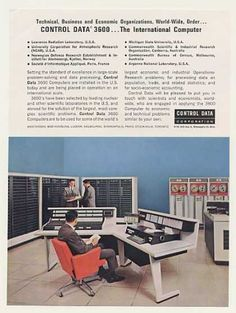 Control Data 3600 International Computer System (1963).