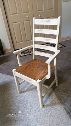 Solid Oak French Country Ladder Back Chairs With Button Tops   Scott Table  And Chairs Chestnut | Wood Dining Chairs   Solid Hardwood | Pinterest |  Solid ...