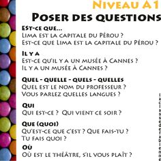 Learn French Videos To Get Printing Furniture Nervous System Key: 6810635188 French Teacher, Teaching French, How To Speak French, Learn French, Communication Orale, High School French, French For Beginners, French Expressions, Core French
