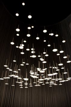BlackBody presented two beautiful lights designed by Gaugin and McConnico, at Maison & Objet 2012.