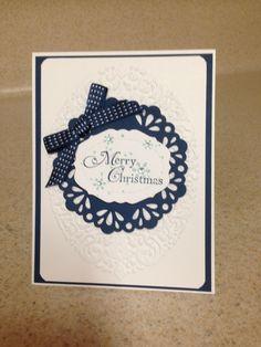SU Christmas card workshop
