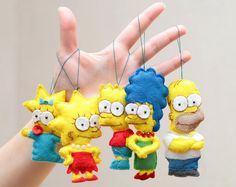 Felt Simpsons