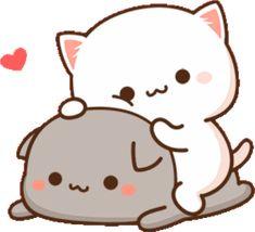 Cute Panda Cartoon, Cute Cartoon Images, Cute Love Cartoons, Cute Cartoon Wallpapers, Cute Images, Cute Love Gif, Cute Cat Gif, Funny Cute, Cute Bear Drawings