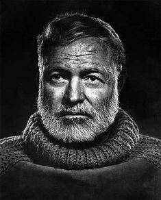 Yousuf Karsh, Ernst Hemingway on ArtStack #yousuf-karsh #art