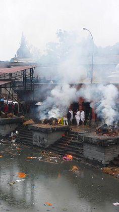 Cremation in Pashupatinath - Kathmandu Nepal