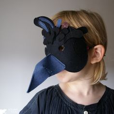 Kickcan & Conkers: Fun with Fables Crow Mask