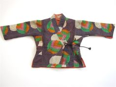 Indian Quilt Wrap Jacket  ~  Tomboy / Kids Clothing  $65