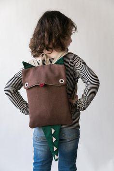 Monster Backpack, Diaper Bag Backpack, Small Backpack, Diaper Bags, Travel Backpack, Animal Backpacks, Cute Backpacks, Leather Backpacks, Leather Bags