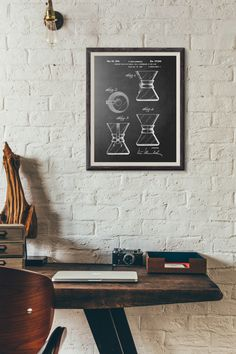 Chemex Patent Design Poster