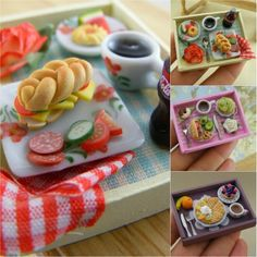 miniature wearable & collectible foodstuff