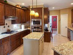 Counter tops & Kitchen Remodel - Allen TX  http://www.AllenHomeRemodelers.com #CounterTops #cabinets #KitchenRemodel #Allen TX