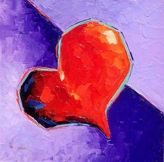 """""""VALENTINE'S DAY HEART PAINTING GIVEAWAY"""" by Olga Wagner"""