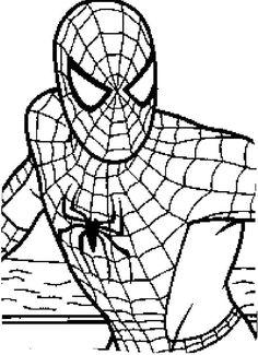 Eski Elbiseden Bandana Yapmak Boyama Kitabı Spiderman Coloring
