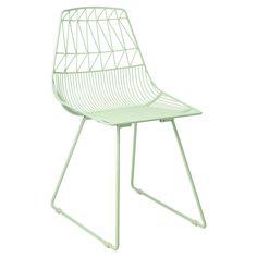 minty | Lucy Side Chair in Mint by Bend (Gaurav Nanda)