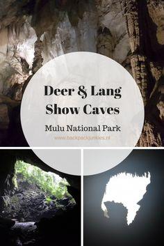 De Deer & Lang Caves zijn twee 'show caves' van Mulu National Park. Stalactieten, stalagmieten en vleermuizen krijg je hier te zien.