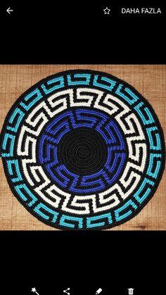 WIG-of-Strickn # # gørdetselv Source Crochet Chart, Crochet Motif, Crochet Designs, Crochet Stitches, Wiggly Crochet, Mochila Crochet, Tapestry Crochet Patterns, Tapestry Bag, Crochet Buttons