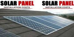Solar Panels Cost Solar Panel Cost, Solar Panels, Solar Panel Installation, Solar Power, Technology, Awesome, Outdoor Decor, Tecnologia, Tech