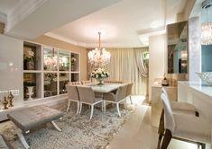 Tapetes fios de seda – veja salas e quartos maravilhosos decorados com eles!