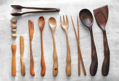 Wooden Cooking Utensils Designed by Linda Hsiao