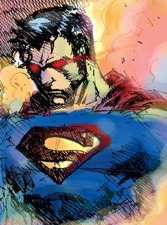 Superman by dziqker.deviantart.com on @deviantART
