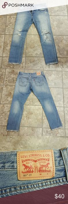 NWOT Levi 501 Jeans These jeans are new without tags. I purchased them from am instagram shop and they are too big for me. Levi's Jeans