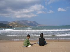 Море  и  дети.