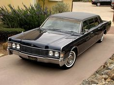 1968 Lincoln Continental Lehmann Peterson Limousine