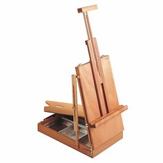 Mabef Table Sketch Box Easel - GreatArt - No 1 Online Art Materials Supplier Table Sketch, Sketch Box, Table Easel, Vertical Or Horizontal, Online Art, Arts And Crafts, Canvas, Wood, Interior