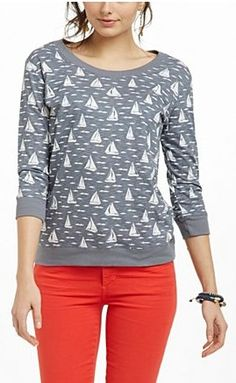 The Gabby Sweatshirt from Anthropologie.