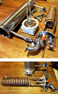 Electric Brewing System. (would ensure consistency in brewing, keeps electric parts away from liquids, will need a pump and sanitary fittings)