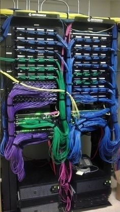 Beautiful work. This is how networked servers should look.
