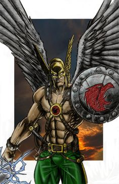 "HAWKMAN 2.0  ✮✮""Feel free to share on Pinterest"" ♥ღ www.UNOCOLLECTIBLES.COM"