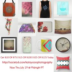 Buy More=Save More  Up to $25 OFF Everything On My S6 Shop Now Thru July 19 @ Midnight PT Get $10 Off $75   $15 Off $100   $25 Off $125  #sale #discount #specialoffer #lastminutedeal #deal #onlineshopping #fashion #apparel #tee #accessories #cover #case #phonecase #decor #decorideas #homedecor #gift #giftideas #giftforher #giftforhim #art #artsy #wallart #trend #trendy #bedroom #bedroomdecor #bathroom #bathroomdecor #kitchen #curtain #leggings #tote #bag