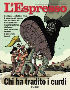 La copertina dell'Espresso in edicola da domenica 15 aprile